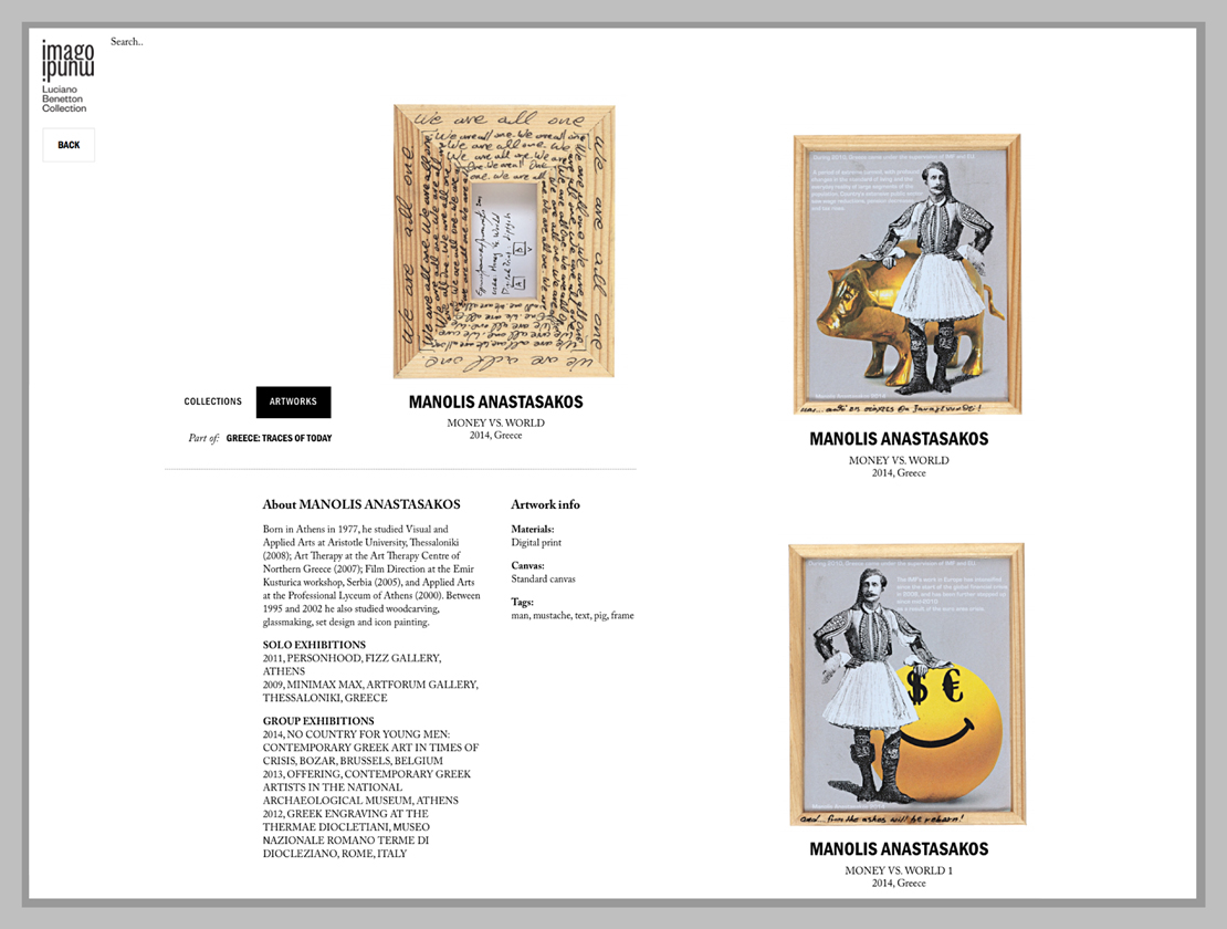 Beneton collection 2013 – imago mundi