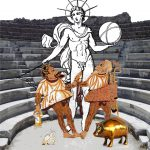 the sun the slave and the pig